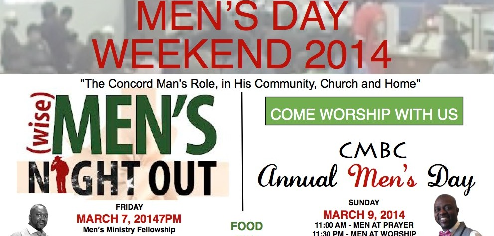 Mens Day Flyer