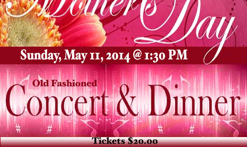Mother's Day Dinner and Concert