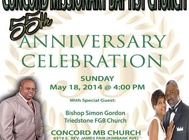 55th Anniversary Celebration 640