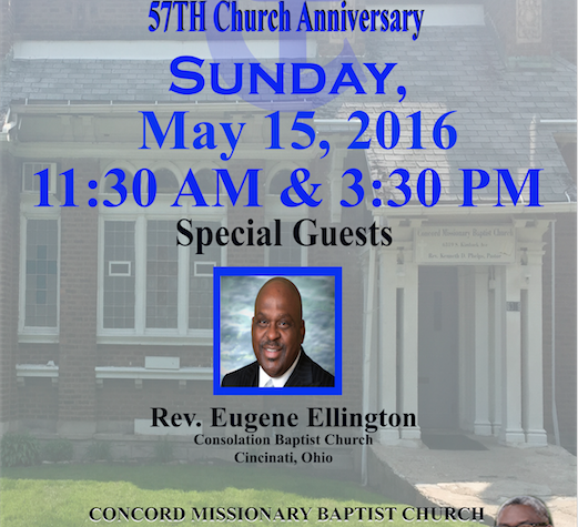 CMBC Church Anniversary Screen Shot